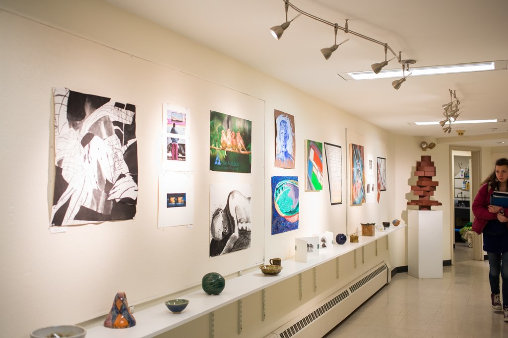 Fall Semester Student Art Show Gallery