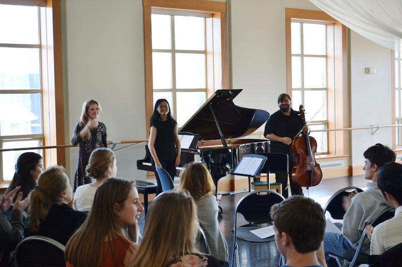 Neave Piano Trio Master Class 1