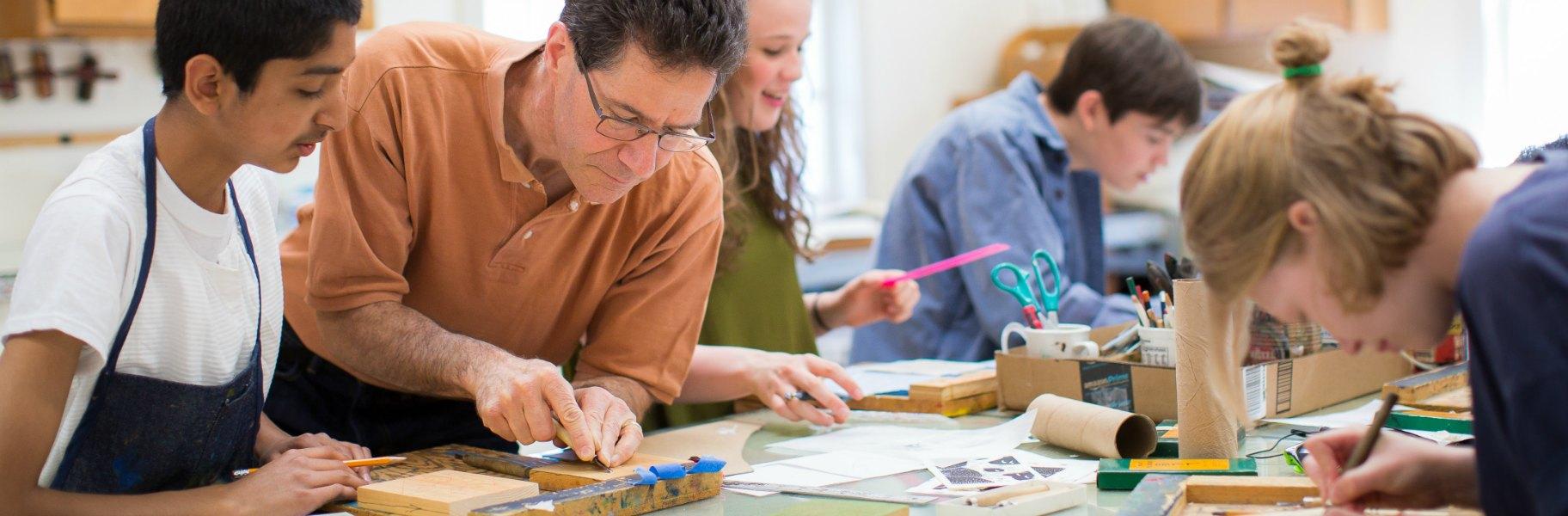 2D Studio Arts: Printmaking