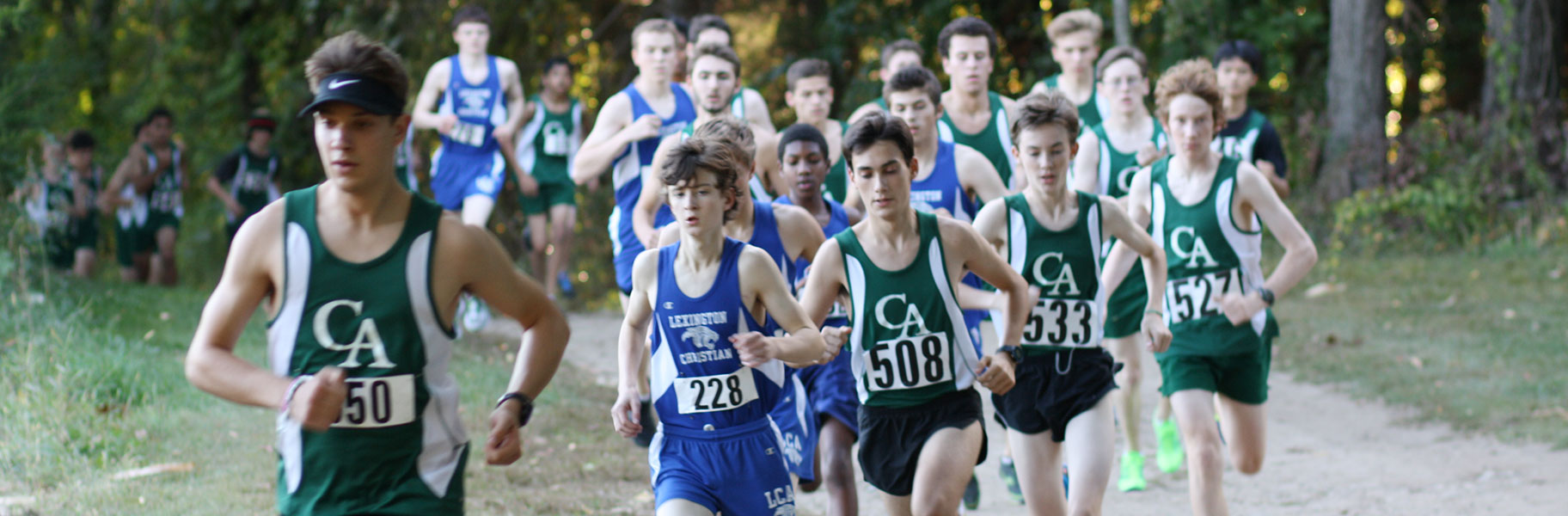 Boys Cross Country at Concord Academy