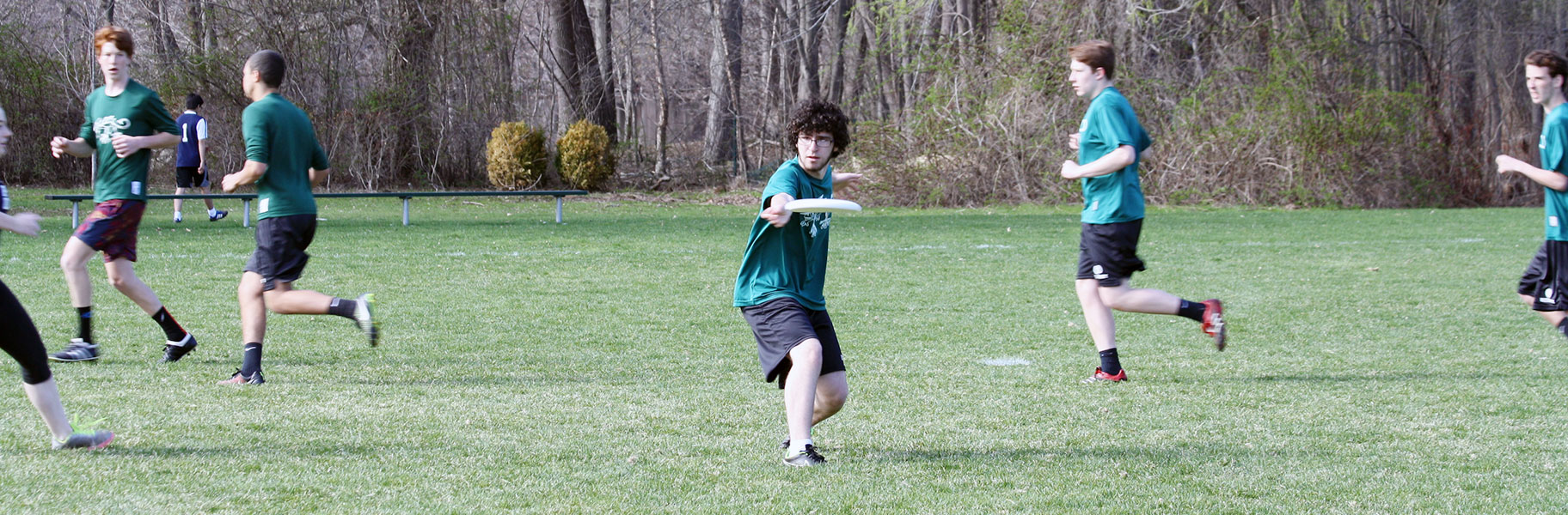 Co-ed Ultimate Frisbee at Concord Academy