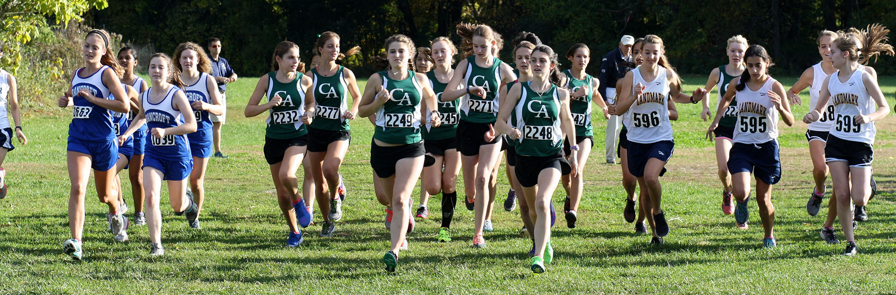 Girls Cross Country at Concord Academy