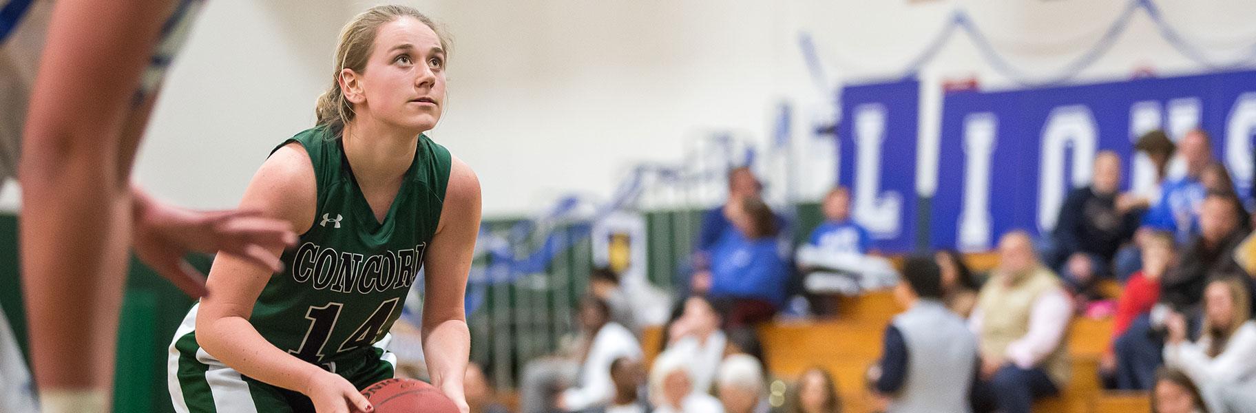 Girls Varsity Basketball at Concord Academy