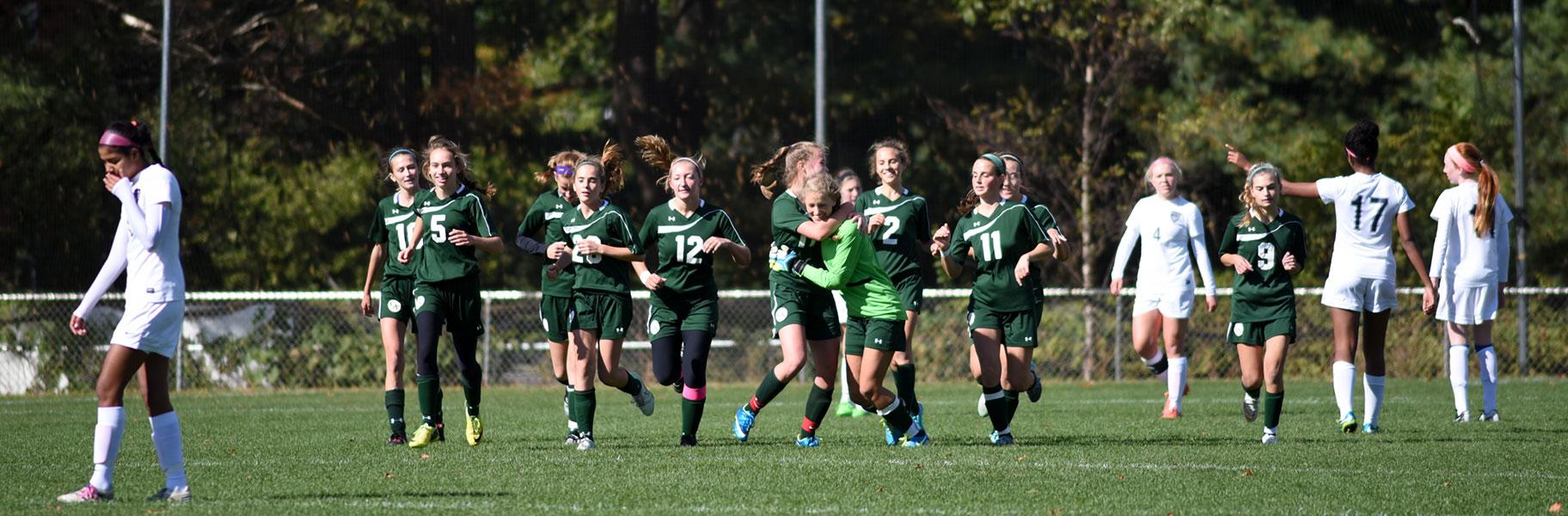 Girls Varsity Soccer at Concord Academy
