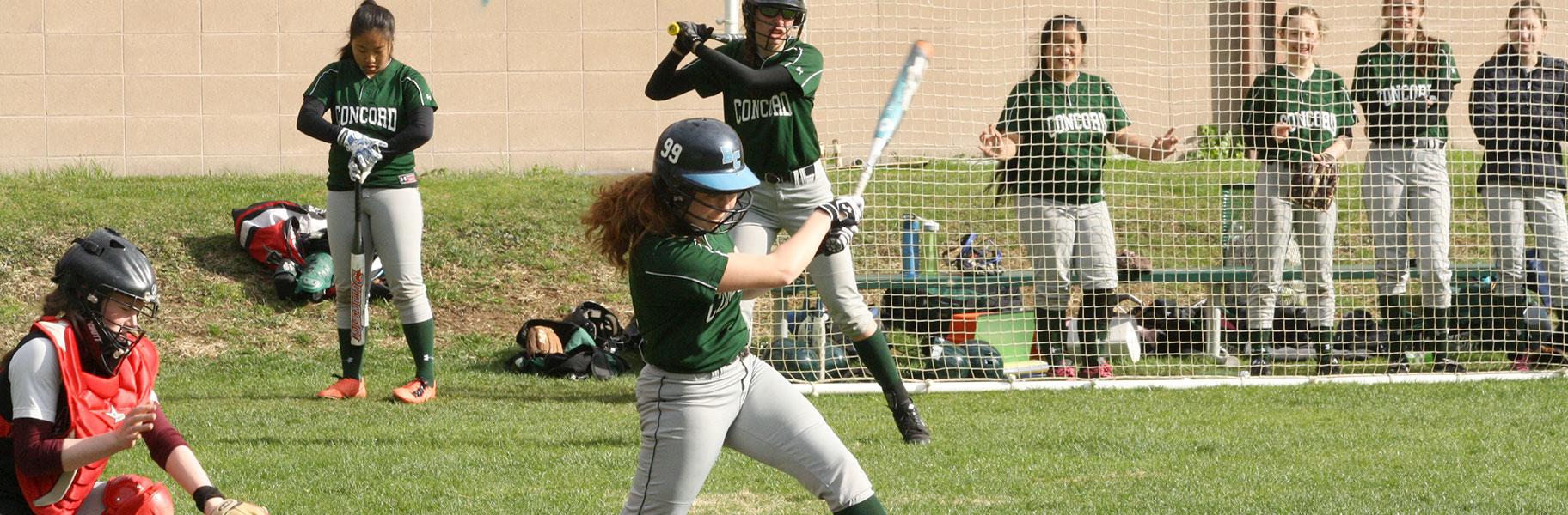 Girls Varsity Softball at Concord Academy