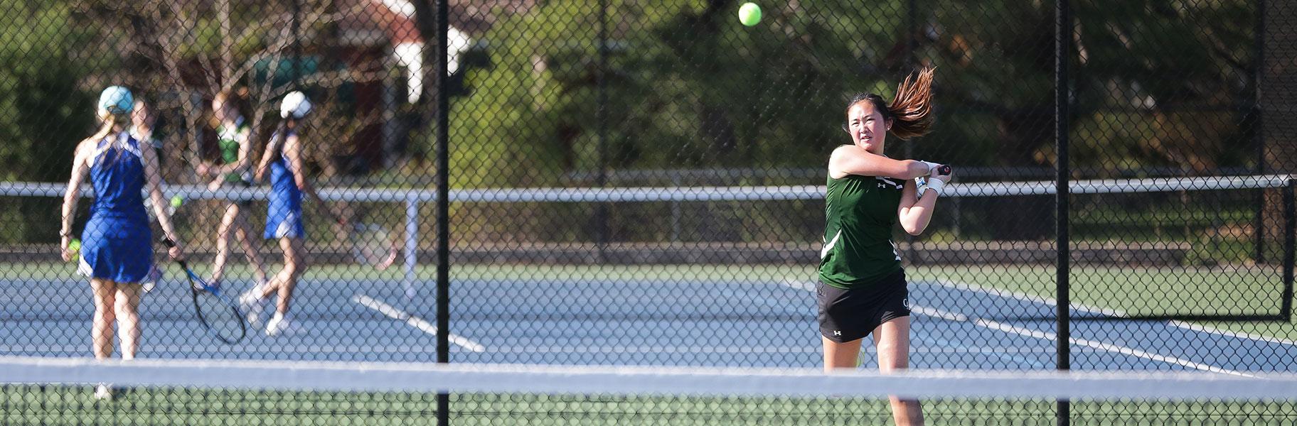 Girls Varsity Tennis at Concord Academy