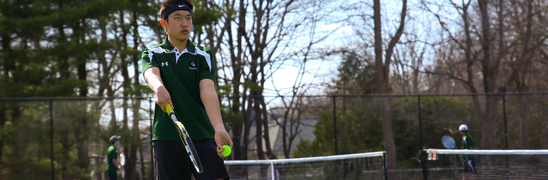 Boys JV Tennis at Concord Academy