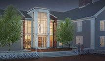 The proposed new Main School entrance