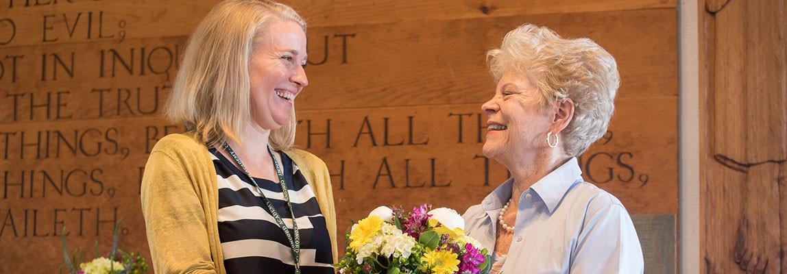 Sandra Willett Jackson '61 Receives CA's 2016 Joan Shaw Herman Award 2