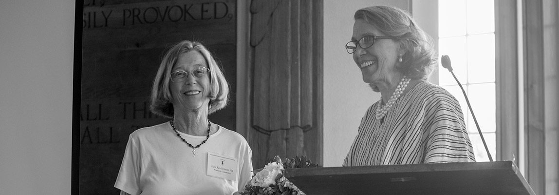 Lyn Burr Brignoli '62 Honored with 2017 Joan Shaw Herman Distinguished Service Award 1