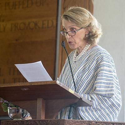Lyn Burr Brignoli '62 Honored with 2017 Joan Shaw Herman Distinguished Service Award 4