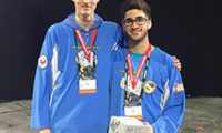 CA Students Part of World Champion Team at the FIRST Tech Challenge 1