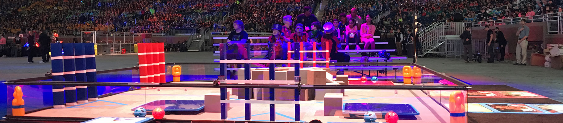 CA Students Part of World Champion Team at the FIRST Tech Challenge