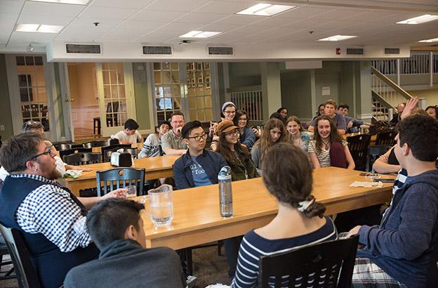 Storytelling Assembly with S. Bear Bergman Kicks Off CA's GSA-at-30 Celebration 6