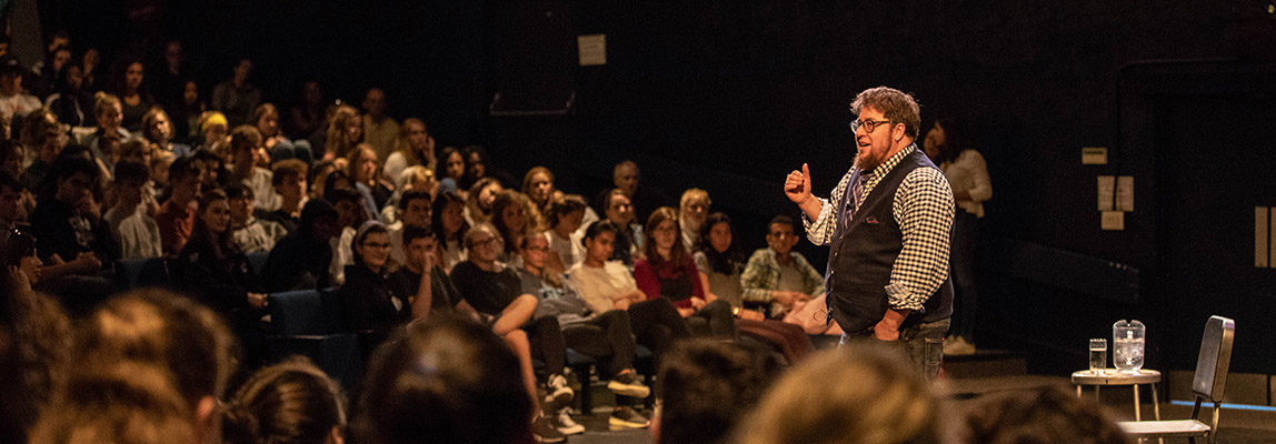 Storytelling Assembly with S. Bear Bergman Kicks Off CA's GSA-at-30 Celebration 7