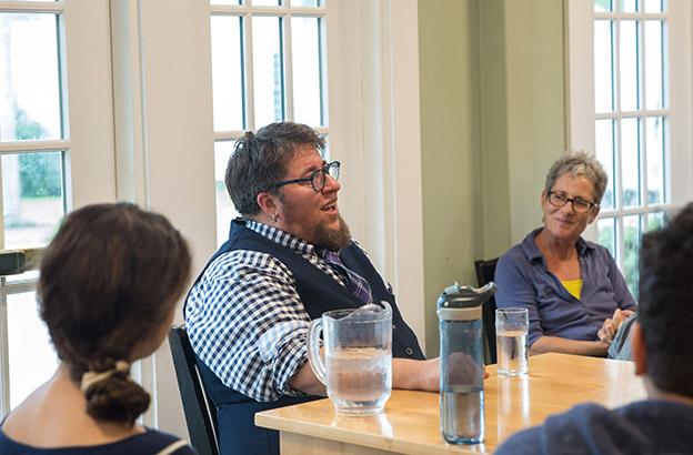 Storytelling Assembly with S. Bear Bergman Kicks Off CA's GSA-at-30 Celebration