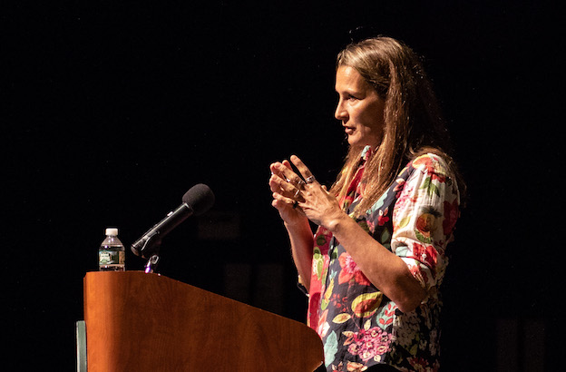 Filmmaker Catherine Saalfield Gund '83, Honored with the 2018 Joan Shaw Herman Award, Speaks at CA 11