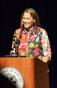 Filmmaker Catherine Saalfield Gund '83, Honored with the 2018 Joan Shaw Herman Award, Speaks at CA 2