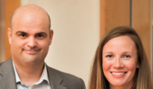 Matt McCahill '95 and Claire Moriarty Schaeffer '05