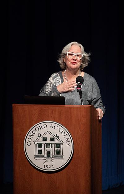 2018–19 Davidson Lecturer Patsy Aldana '64 Speaks about Migrant Children at Risk 1