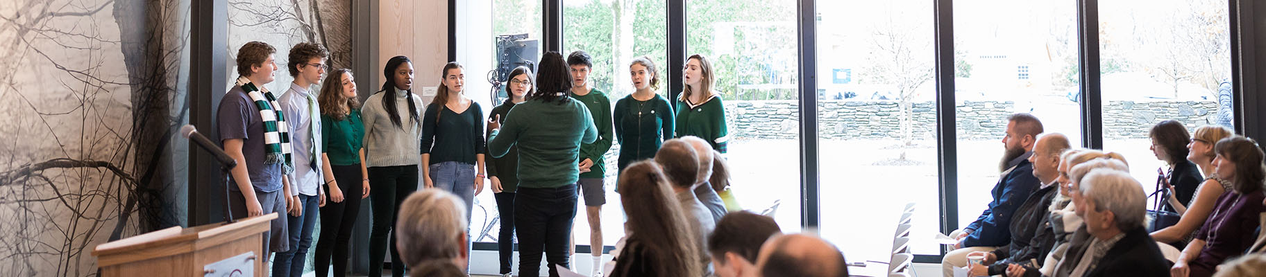CA Singers Herald History at the Opening of the Concord Museum's Rasmussen Education Center