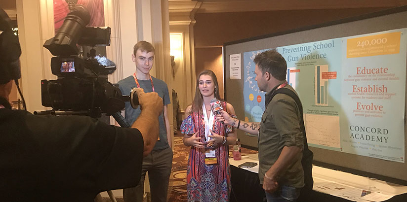 Taking Aim at Gun Violence, CA's Big Data Club Earns the People's Choice Award in the Teradata University Network Analytics Challenge 2