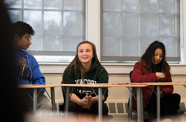 Sharing and Hearing Our Stories: Concord Academy Spends Martin Luther King Jr. Day 2019 in Listening and Reflection 1