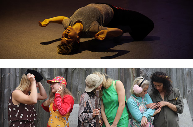 In a Guest Artist Residency, Lily Kind '04 Brings Her Love of Vernacular and Experimental Dance Back to CA 6