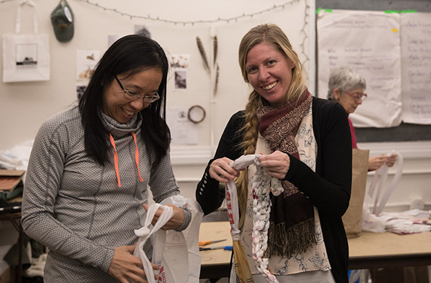 """Uniting Her Passions for Crafting, Environmental Advocacy, and Helping Fellow Teens, Audrey Lin '19 is """"Matting Change"""" 4"""