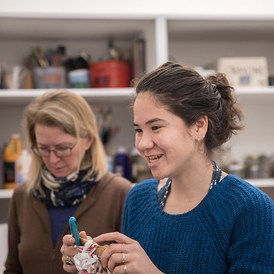 """Uniting Her Passions for Crafting, Environmental Advocacy, and Helping Fellow Teens, Audrey Lin '19 is """"Matting Change"""" 6"""