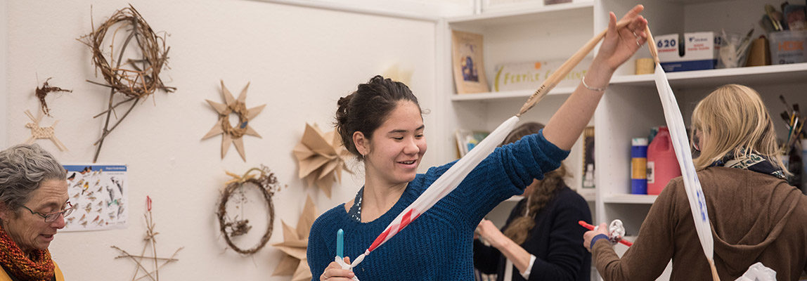 """Uniting Her Passions for Crafting, Environmental Advocacy, and Helping Fellow Teens, Audrey Lin '19 is """"Matting Change"""" 7"""