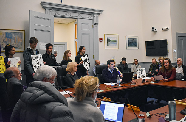 Urged by CA Students, Concord Select Board Approves Resolution in Support of a Green New Deal 1