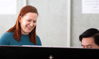 Composer-in-Residence Stefanie Lubkowski Is Getting Students Involved in Creating New Music 2