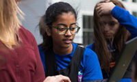 CA Students Host First Concord Academy Women in Technology Conference 5