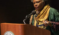 Claudia Rankine Speaks about Citizen: An American Lyric at Concord Academy