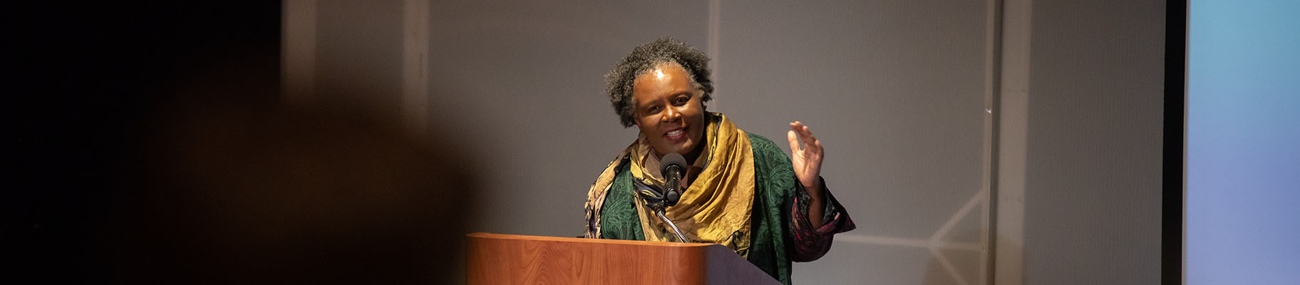 Claudia Rankine Speaks about Citizen: An American Lyric at Concord Academy 2