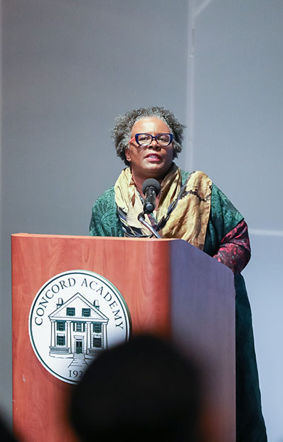 Claudia Rankine Speaks about <em>Citizen: An American Lyric</em> at Concord Academy