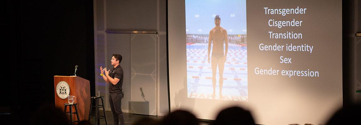 NCAA Transgender Swimmer Schuyler Bailar Brings His Inspiring Story to Concord Academy