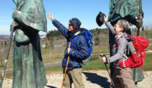 Taking In the World at a Human Pace: Some Recent CA Faculty and Student Pilgrimages 10