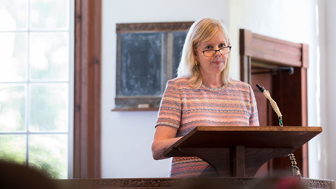 2019 Convocation Remarks from Fay Lampert Shutzer '65, Board of Trustees President