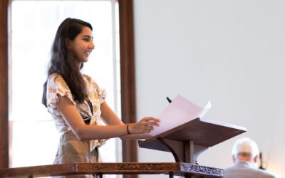 2019 Convocation Remarks from Student Head of School Vedika Sharma '20