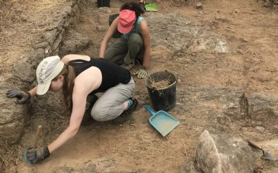 Digging Deeper: A CA Latin Teacher Shares her Passion for Archeology with CA Students