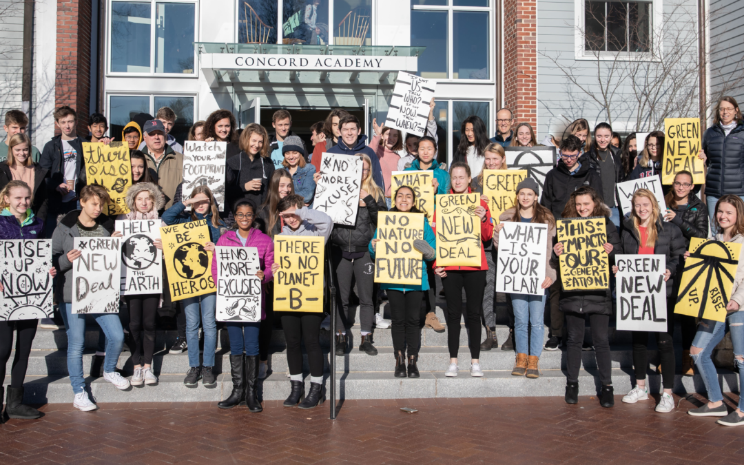 Urged by CA Students, Concord Select Board Approves Resolution in Support of a Green New Deal