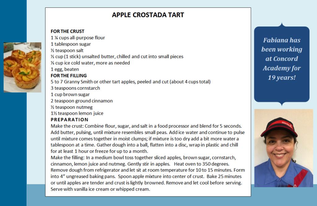 Apple Crostada Tart