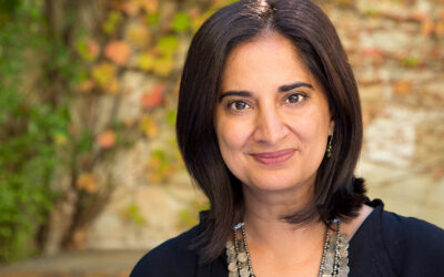 2021 Centennial Hall Fellow Mallika Chopra '89 Grounds the CA Community in Living with Intention