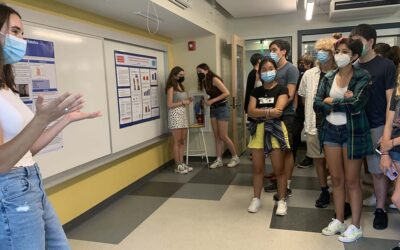 CA Students Present their Research from InSPIRE Summer Science Internships